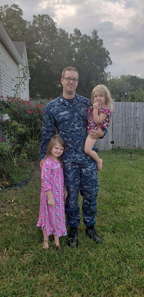 Justin Navy Family